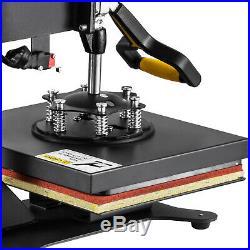 12x10 SWING AWAY Digital Heat Press Machine T-Shirts Sublimation DIY Transfer