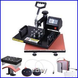 12x15 Digital Heat Press Machine T-Shirt Sublimation 360 Swing Away Transfer