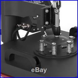 15x15 5IN1 Combo T-Shirt Heat Press Transfer Baseball Hat Pressing Swing Away