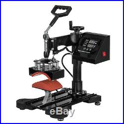 15x15 5IN1 Combo T-Shirt Heat Press Transfer Machine Sublimation Swing Away