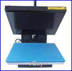 15x15 Clamshell Heat Press Machine Digital Sublimation Transfer T-shirt Clothes