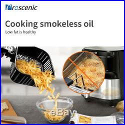 1700W Alexa Air Fryer Electric Oven 5,5L Deep Cooker Low Fat Oil LED Touchscree