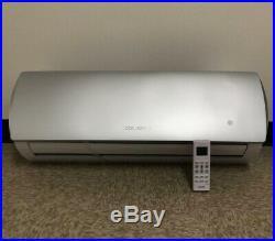 18000 BTU Mini Split Confort System Ductless AC Heat Pump 220V 1.5Ton Whit/kit