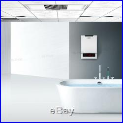 18KW 240V LED Touch Electric Tankless Instant Hot Water Heater Bath Shower ETL