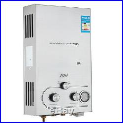 18L 5GPM Hot Water Heater Propane Gas Instant Tankless Boiler LPG with Shower