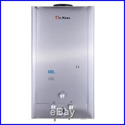 18L Tankless LPG Propane Gas Hot Water Heater 5GPM Digital Display withShower Head