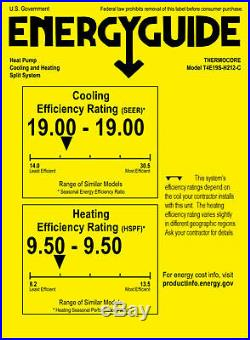 19 SEER 18000 BTU Ductless Air Conditioner Heat Pump Mini Split 1.5 TON + KIT
