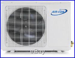 24,000 BTU Ductless Mini Split Air Conditioner Heat Pump 18 SEER AC Unit Air-Con