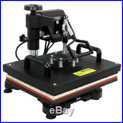 5 In 1 Digital Heat Press Machine Sublimation For T-Shirt/Mug/Plate Hat Printer