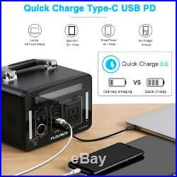 500Wh Power Generator Portable Li On Charger Power Bank Energy Storage AC DC USB