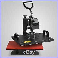 5in1 Digital Transfer Sublimation Heat Press Machine T-Shirt Mug Plate 15X12