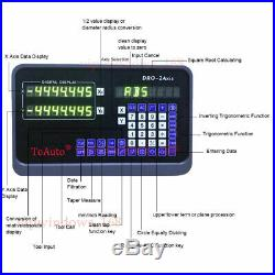 6 & 12 & 24 DRO Display 3Axis Digital Readout TTL Linear Glass Scale Milling