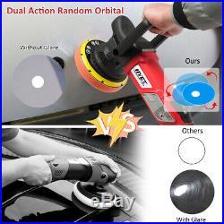 6 Dual Action Random Orbital Buffer Polisher Variable Speed with Digital Display