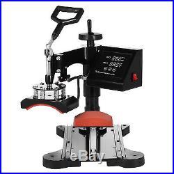 8 IN 1 15x15 Combo T-Shirt Heat Press Transfer Machine Hat Mug Plate Combo Kit