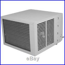 8000 BTU Window AC Unit with 3500 BTU Heater, 115V Home Air Conditioner with Remote
