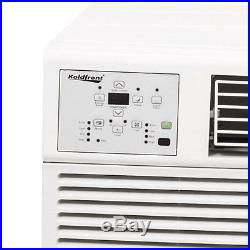 8000 BTU Window AC Unit with Heating, 115V Standard Air Conditioner Fan & Remote