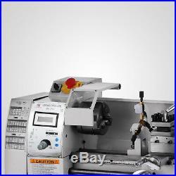 8x16 Mini Metal Lathe Variable-Speed 50-2500RPM 750W BenchTop Digital Display
