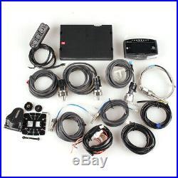 Advance ZD 10-in-1 LED Display Digital Meter Boost RPM EGT Gauge Full Sensor Kit
