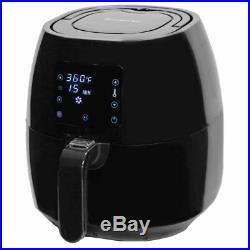 Avalon Bay Air Fryer Digital Display Stainless Steel Healthy Kitchen Appliance