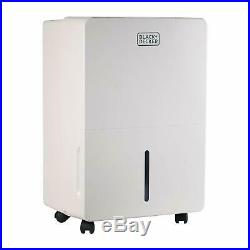 BLACK+DECKER 70-Pint Portable Dehumidifier with Adjustable Thermostat BDT70WT