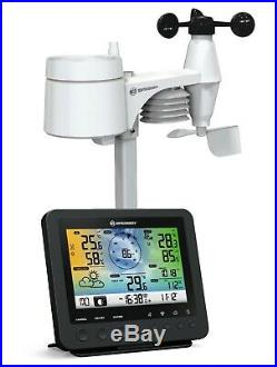 Bresser Weather Station with 5-in-1 outdoor sensor and 256-Colour display (UK)