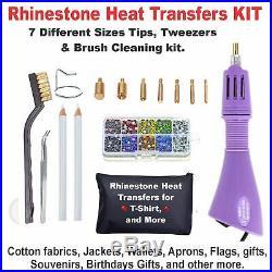 Canon Printer Machine Heat Transfer Ink X Cotton T-shirt + Rhinestone Start Kit