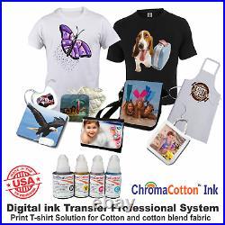 Canon Tank Ink Printer Machine Heat Transfer T-shirt Maker Rhinestone Start Kit