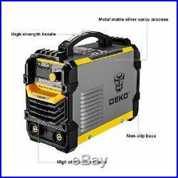 DEKO 110/220V MMA ARC Welder Machine IGBT Digital Display LCD Hot Start Welder