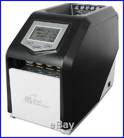 Electric Coin Sorter Counter Machine 4 Row Digital Total Display Royal Sovereign