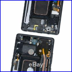 For Samsung Galaxy Note 8 OLED LCD Display Touch Screen Digitizer Assembly+Frame
