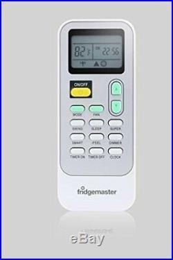 Fridgemaster 8,000 BTU Portable Air Conditioner, 200 SQ FT, White
