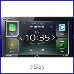 JVC KW-M740BT Double DIN Digital Media Receiver with 6.8 Touchscreen Display