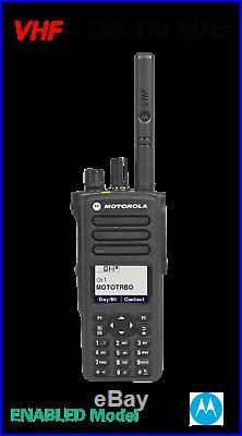 MOTOTRBO XPR XPR 7550e VHF 136-174 MHz COLOR DISPLAY DIGITAL PORTABLE