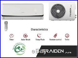 Mini Split AC System Ductless 12000 BTU (1 Ton) ONLY COLD 220V With Kit