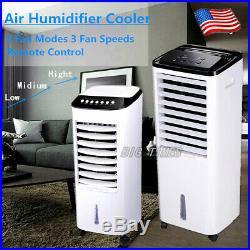 Portable Air Conditioner Evaporative Air Cooler Fan Humidifier Remote Control