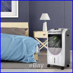 Portable Air Cooler Fan & Heater Humidifier with Washable Filter Remote Control
