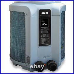 Premium 53000 BTU Digital Pool Heat Pump Pool & Spa Super Quiet Swimming Heater