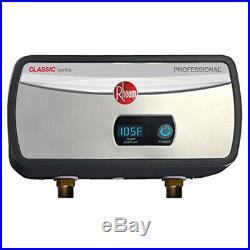 Rheem RTEX-04 120-Volt 1-Chamber 3.5kW Electric Tankless Water Heater