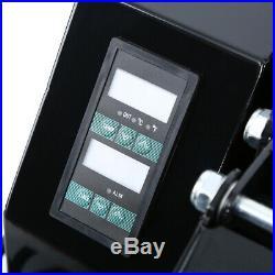 Ridgeyard 1600W Digital Clamshell Heat Press Transfer T-Shirt Machine 16x24