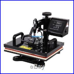 Ridgeyard 8 In 1 T-Shirt Mug/Plate Sublimation Heat Press Transfer Machine Metal