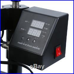 Ridgeyard Transfer Sublimation Heat Press Machine T-Shirt Mug Hat 12x15