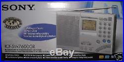 SONY FM Stereo World Band Receiver Radio ICF-SW7600GR