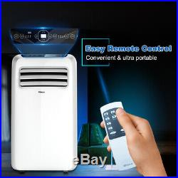 Shinco 8,000 BTU Portable Air Conditioner, Dehumidifier Fan Functions, with Remote