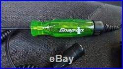 Snap On GREEN 3 19 volt DC LCD Circuit Tester test light SPECIAL EDITION COLOR