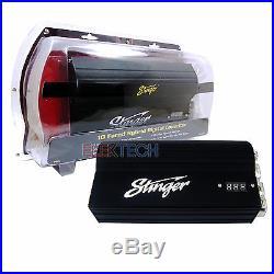 Stinger SPC5010 Pro Hybrid 10 Farad Digital Capacitor Black LED Display 12-Volt