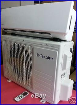 Super Efficient 12,000 BTU Ductless Mini Split Air Conditioner Heat Pump 1 Ton