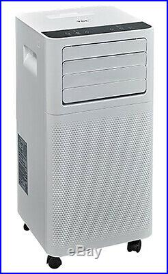 TCL 6000 BTU 2-Speed Portable Air Conditioner with Remote Control White