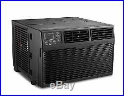 TCL 8000 BTU 3-Speed Window Air Conditioner with Remote Control Black