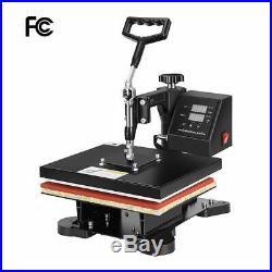 VIVOHOME Heat Press Machine Digital Sublimation T-Shirt Pillow Transfer Printer