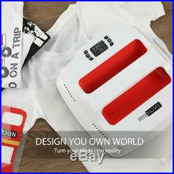 VIVOHOME T-Shirt Heat Press Iron-on Machine Digital Sublimation Transfer Printer